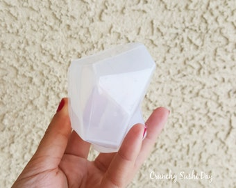 80mm Large Gemstone Mold, Resin Mold, Silicone Mold, Epoxy, Shaker Mold, Charm Mold, Kawaii, Resin Mold, Mold, UV Resin Mold