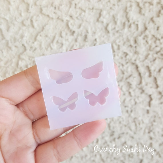 Cute Mini Wing and Butterfly Mold, Resin Mold, Silicone Mold, Epoxy, Mold, Charm Mold, Kawaii, Resin Mold, Mold, UV Resin Mold