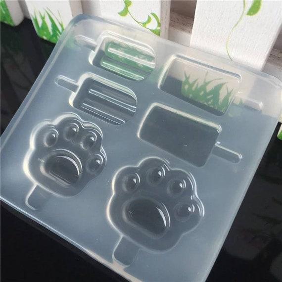 Mini Popsicle Molds, Resin Mold, Silicone Mold, Epoxy, Shaker Mold, Charm Mold, Kawaii, Resin Mold, Mold, UV Resin Mold