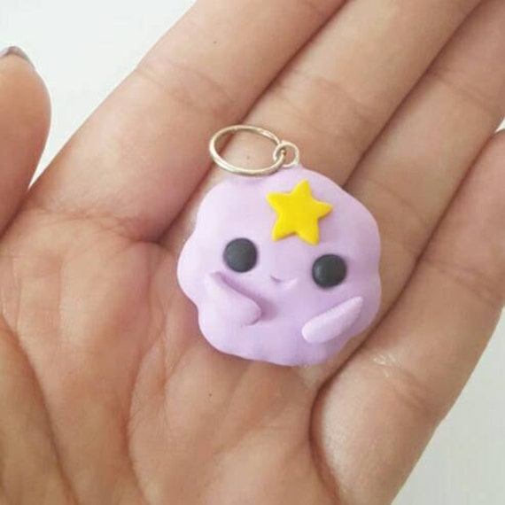 Kawaii LSP Polymer Clay Charm, LSP Polymer Clay Pendant, Adventure Time, polymer clay, clay pendant, Kawaii, Chibi, Clay Charm