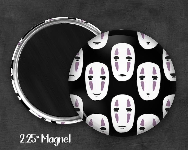 Kawaii Magnet Refridgerator Magnet Magnet Button Fandom 2.25 No Face Magnet Fanart Geek Magnet Geekery