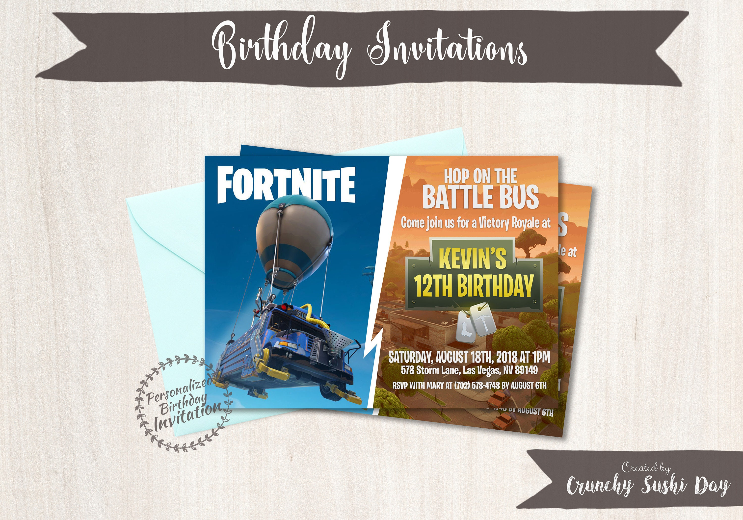 Fortnite birthday party invitations boy birthday invitations video fortnite birthday party invitations boy birthday invitations video game customizable birthday party xbox printable invitations 080 filmwisefo