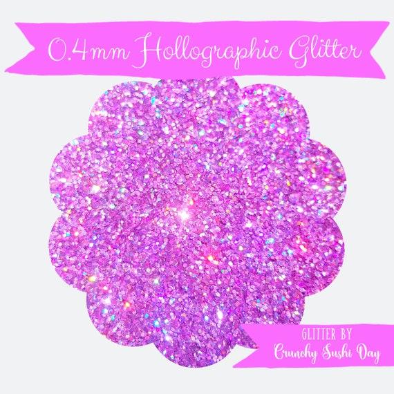 15 grams- 0.4mm Orchid Ultra Fine Glitter, High Quality Holographic Glitter, Glitter, Glitter Confetti, Confetti, Kawaii, Resin Glitter