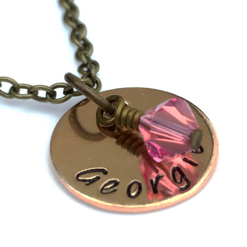 Personalised Necklace Gift for Women Birthday Gift for Girls Unique Gift for Women Valentine/'s Gift for Her Personalised Jewellery