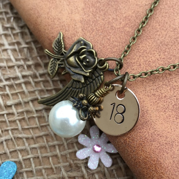Personalised 18th Birthday Necklace Keepsake Jewellery