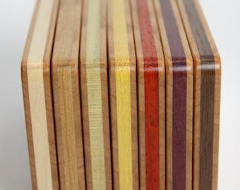 Wood Business Card Holder (Cherry)