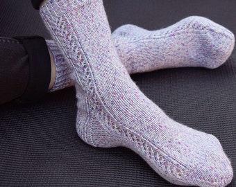KNITTING PATTERN - Timeless Socks (Adult Small, Medium, Large, Extra Large sizes) Digital Download PDF
