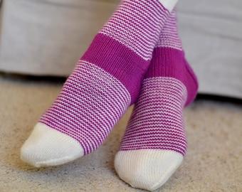 KNITTING PATTERN - Vertigo Socks (Adult Small, Medium, Large, Extra Large sizes) Digital Download PDF