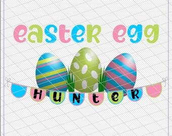 Easter Egg Hunter shirt sublimation digital design