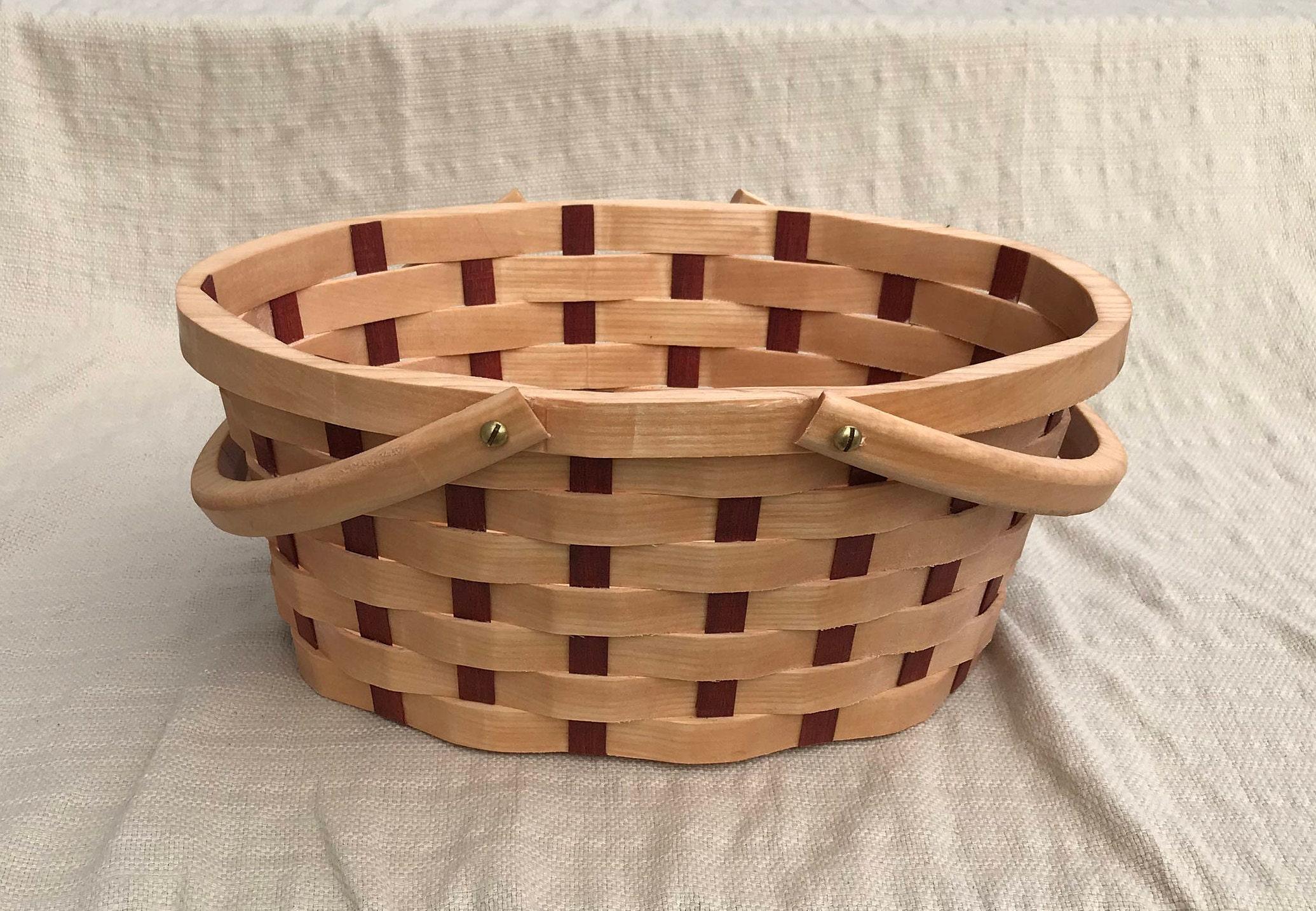 Garden gathering basket medium Oval with handles
