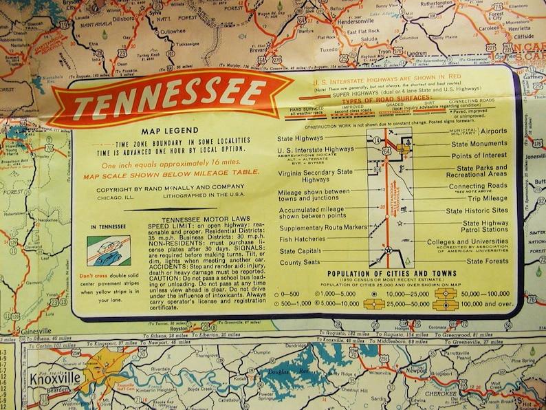 Vintage Mid 50's Gulf Road Map Tennessee Kentucky Smokey Mountains on kentucky nashville map, kentucky mo map, kentucky border, kentucky dc map, kentucky ga map, kentucky state map, kentucky wv map, kentucy tennesse map, kentucky tennessee, kentucky co map,