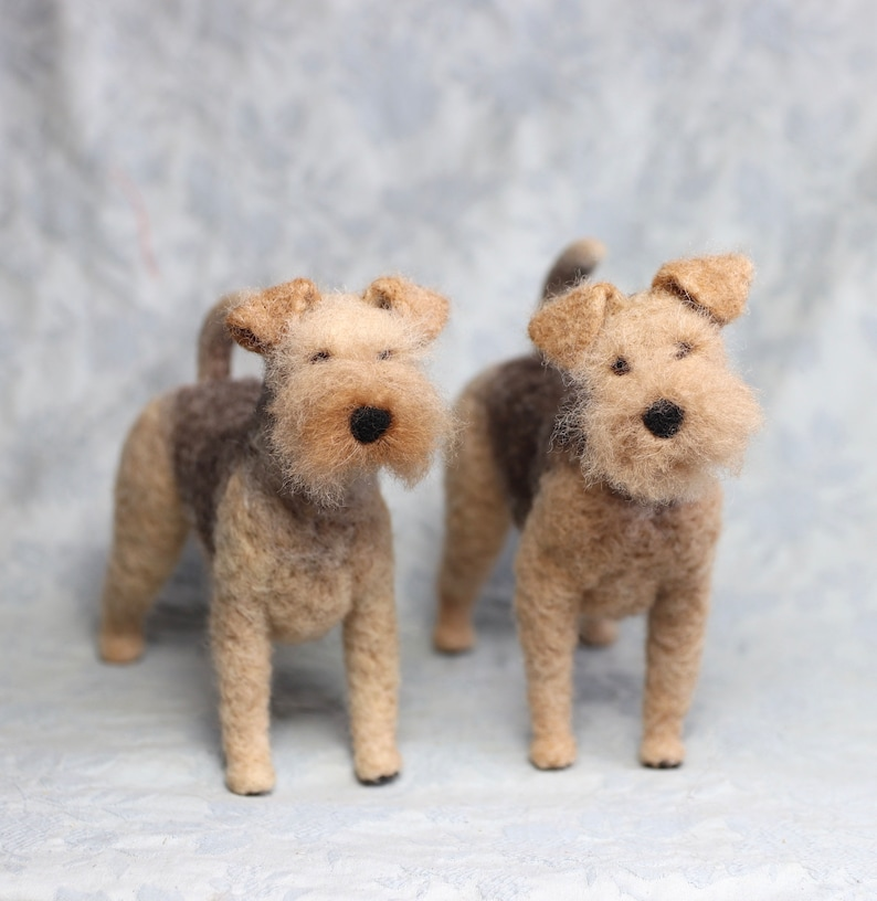 73bc1cc11c67d Tiny FLUFFY Felt Pet Portrait - Poodles, Bichons, Chows, Fluffy Cats and  other pets with fluffy fur