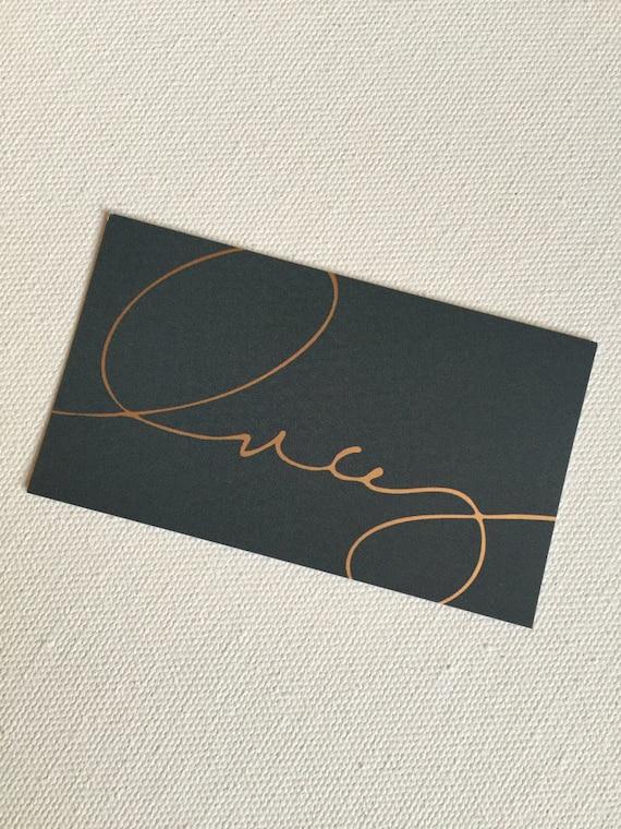 1500 custom gold foil business cards etsy colourmoves