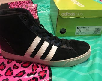 80s throwback ADIDAS hightops samba style