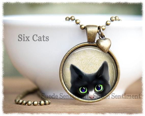 Sitting Cat Kitty Stainless Steel Clasp Clip on Charm 80D Its All About...You
