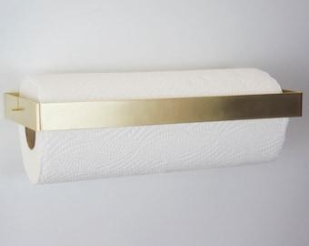 Brass Kitchen Roll Holder