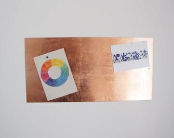 Copper Whiteboard / Magnet board