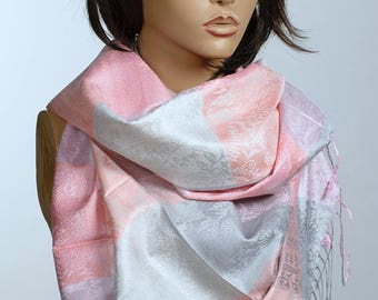 Oversize Pashmina Scarf or Shawl. Fall Winter Scarf for women. Fashion accessories. valentines day Birthday gift. Gift for her.