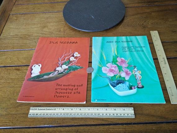 Vtg 70s silk ikebana the making and arranging japanese silk etsy image 0 mightylinksfo