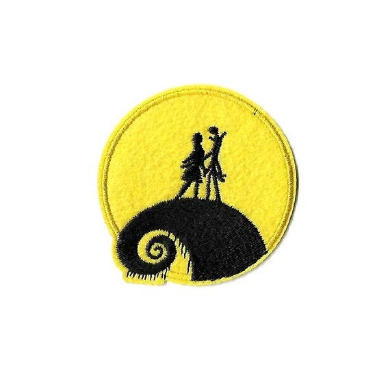 Jack et Sally-Pleine Lune-Nightmare Before Christmas-iron on patch