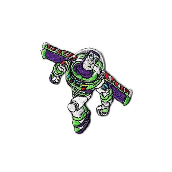 """Toy Story Buzz Lightyear 4 1//4/"""" Tall Embroidered Costume Patch"""