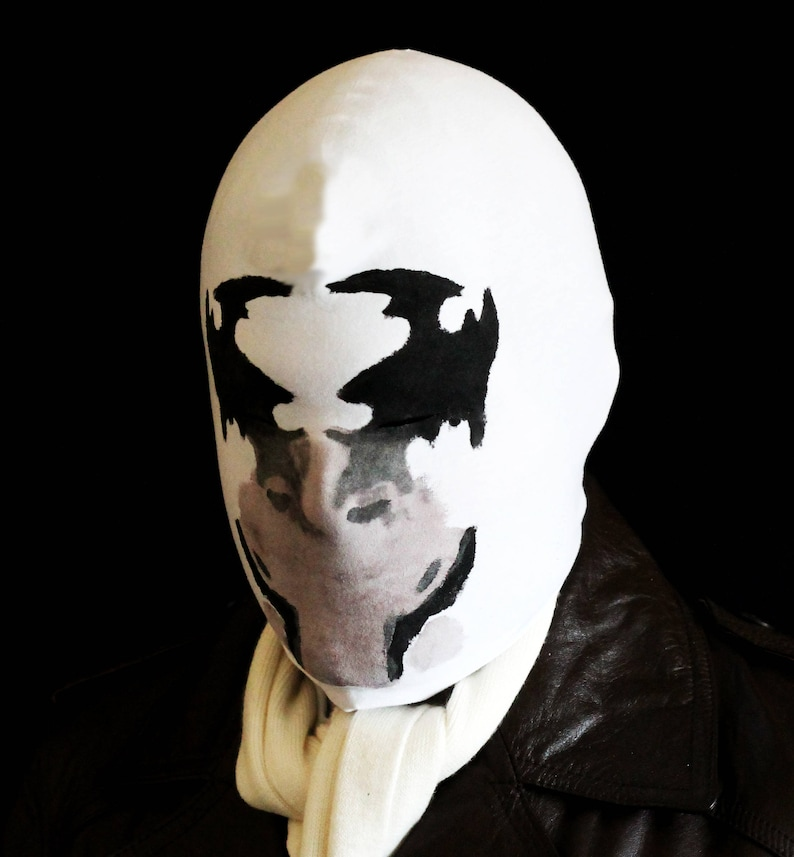 Rorschach mask with REAL moving inkblots image 0
