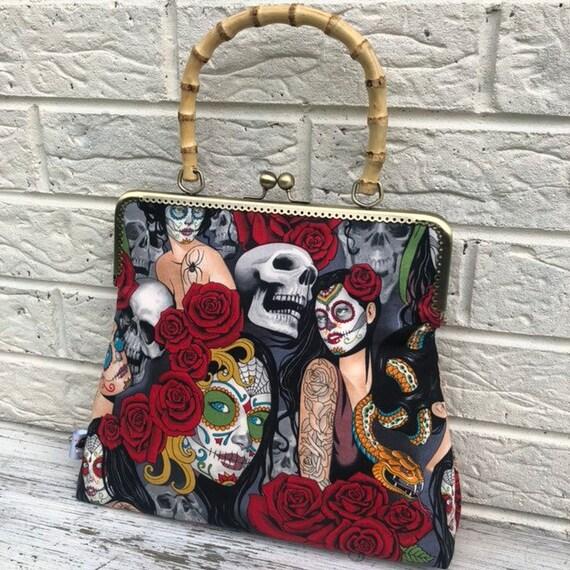 Alexander Henry Tattoo Handbag Rockabilly Pinup 1950's Inspired