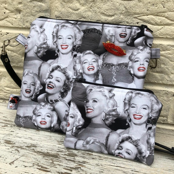 Marilyn Inspired Bag and Purse Rockabilly Pinup 1950's Inspired