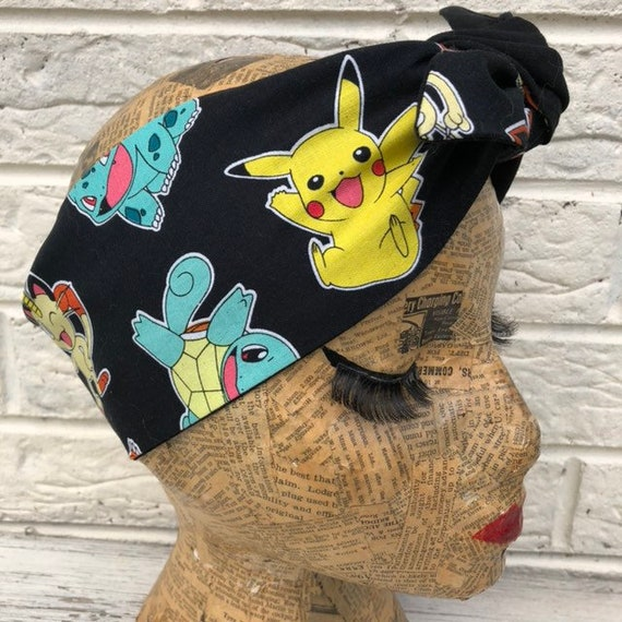 Pokemon Headscarf Rockabilly Pinup 50's inspired