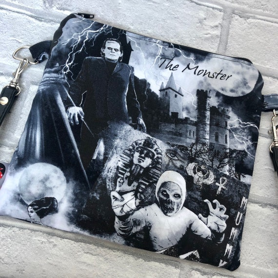 Frankenstein Horror Cross Body Bag