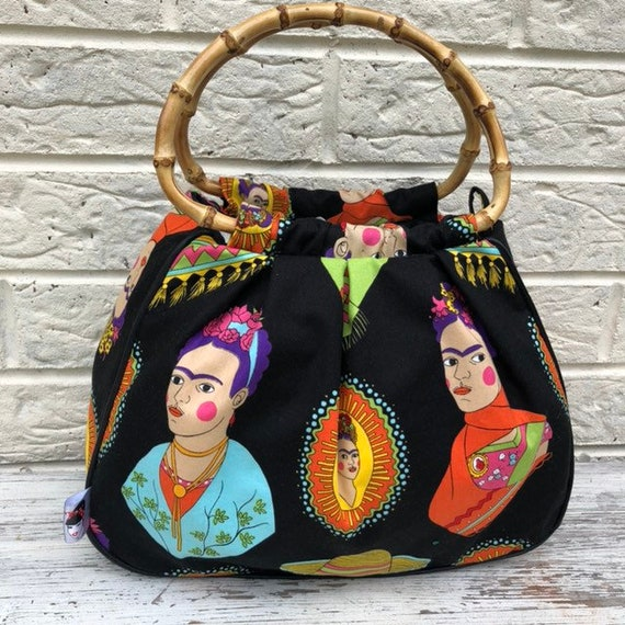 Limited Edition Frida Handbag Rockabilly Pinup 1950s Inspired