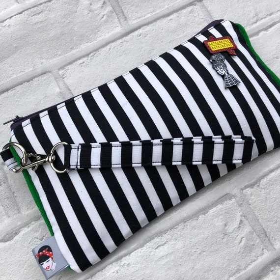 Beetlejuice Inspired Clutchbag Rockabilly Pinup 1950's
