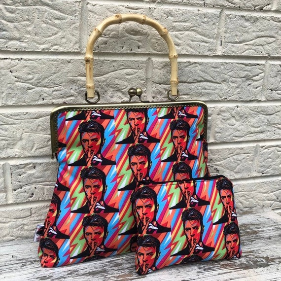 Bowie  Handbag And Purse Rockabilly Pinup 1950's Inspired
