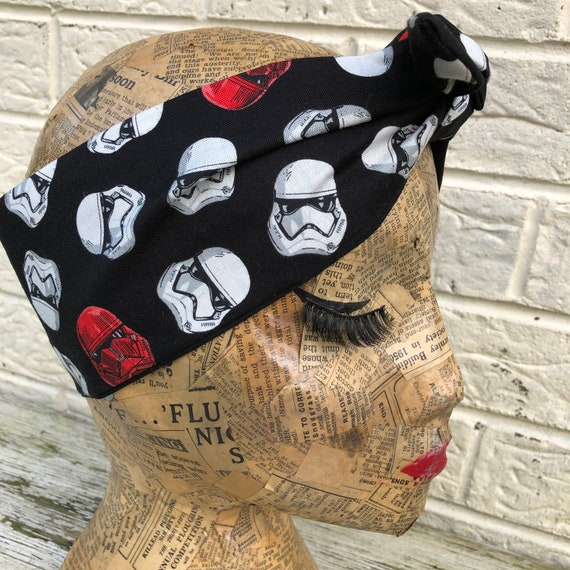 Star Wars Headscarf Rockabilly Pinup 1950's Inspired