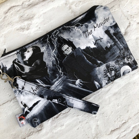Bride Of Frankenstein Clutch bag Rockabilly Pinup Inspired