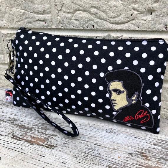 Elvis Clutch Bag Rockabilly Pinup 1950's Inspired