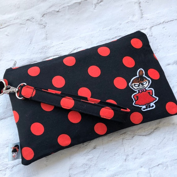 Moomins Inspired Clutch Bag