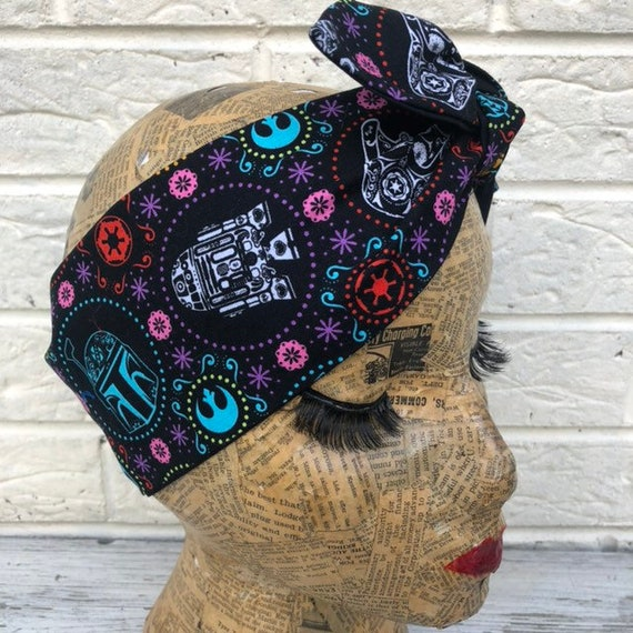 Srar Wars Headscarf Rockabilly Pinup 1950's inspired
