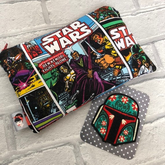 Star Wars gift box Cosmetic Bag and Iron on Patch