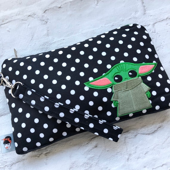 Baby Yoda Inspired Clutch Bag