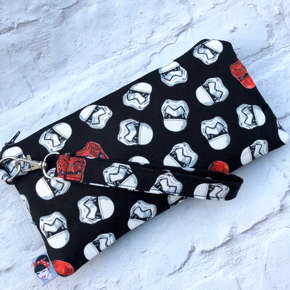 Star Wars Inspired Clutch Bag Retro Nerd Geek