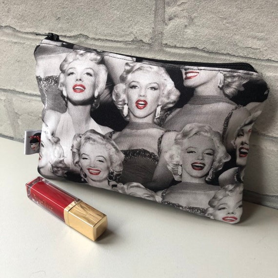 Marilyn Cosmetic Bag 50s Pinup Inspired