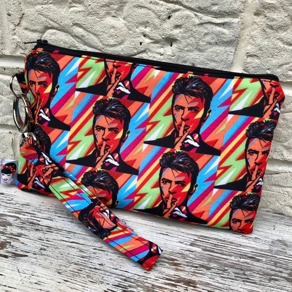 David Bowie Clutch Bag Rockabilly Pinup 1950's Inspired