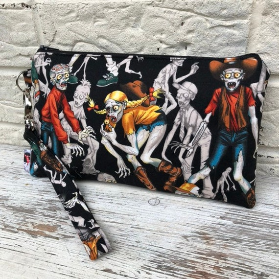Alexander Henry Zombie Clutch Bag Rockabilly Pinup 1950's Inspired