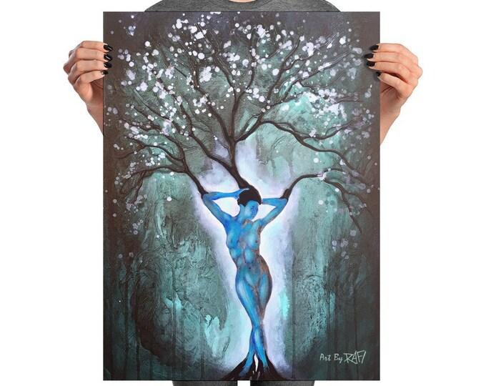 Nature Of Beauty Photo Art Poster Design By Rafi Perez