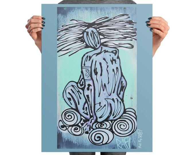 Air Elemental Photo Art Poster Design By Rafi Perez