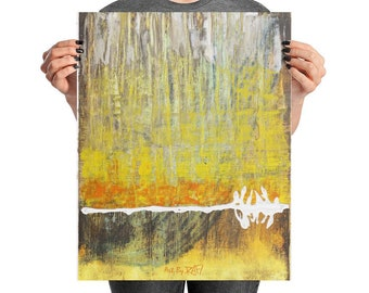 Abstract No 1 Art Poster Design By Rafi Perez