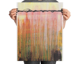 Abstract No. 3 Art Poster Design By Rafi Perez