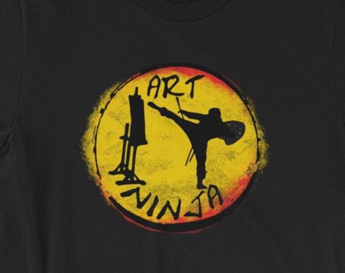 Art Ninja Short-Sleeve Unisex T-Shirt By Rafi Perez