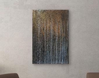 Harmony And Chaos Original Painting By Artist Rafi Perez Mixed Medium on Canvas 24X36